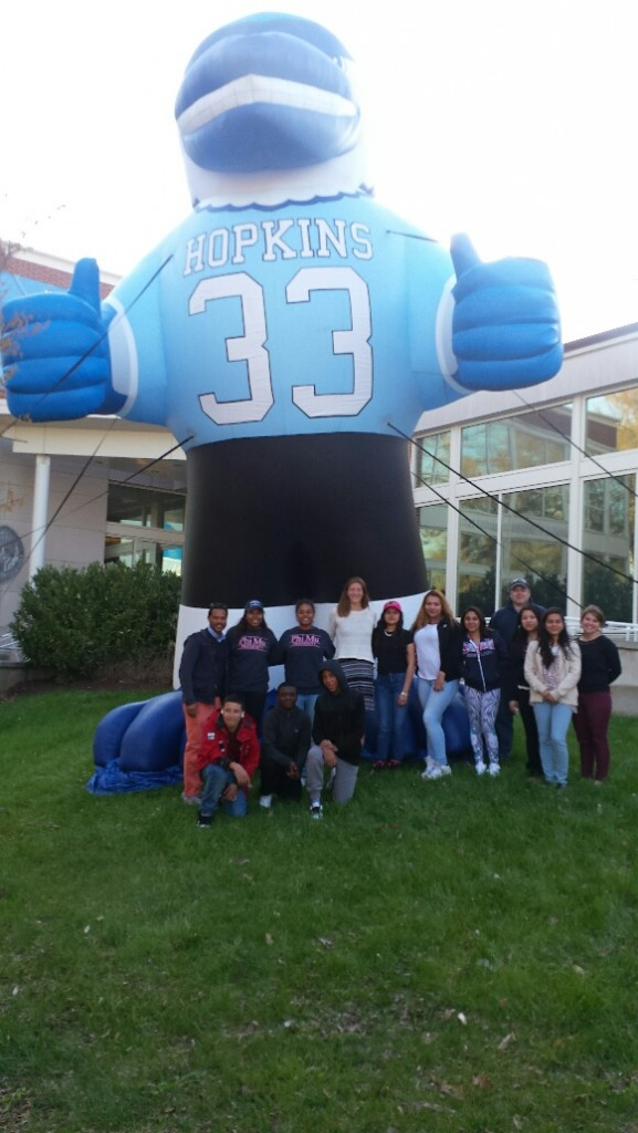College Connection 2016 Trip to Johns Hopkins